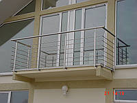 Ограждения балконов и террас из нержавеющей стали