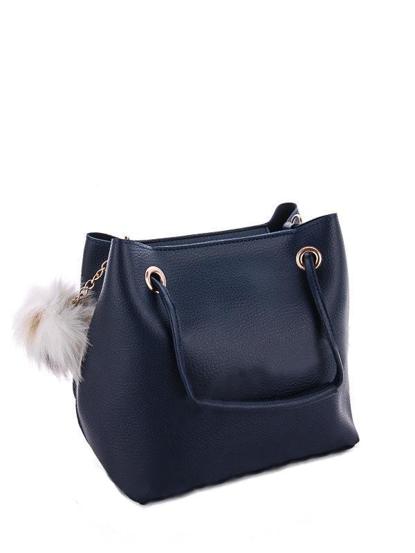 05eeb6707a80 Молодежная женская сумка WeLassie 55023 2 в 1 с пушком, синяя - MegaHertz —  Интернет