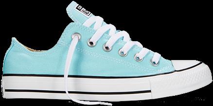 Женские кеды Converse All Star низкие бирюзовые - Интернет магазин обуви «im -РоLLi» 1b176e60682