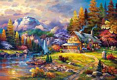 Пазлы Домик в горах 1500 элементов