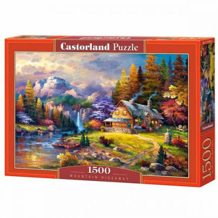 Пазлы Домик в горах 1500 элементов , фото 2