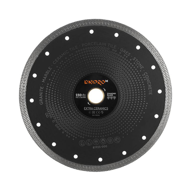 Алмазный диск Dnipro-M 230 25.4 Extra-Ceramics