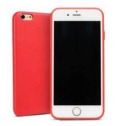 Чехол на iPhone 6, 6S Plus, TPU, красный