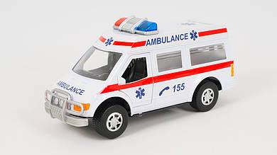 Машинка скорой помощи - инерционная
