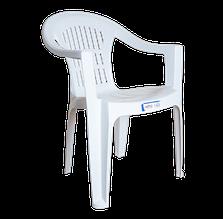 Крісло irak plastik bahar eko біле