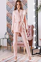 Женский костюм в деловом стиле пиджак и брюки Разные цвета, фото 1