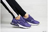 Кроссовки Nike 7374 фиолетовые, фото 1