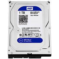 """NEW! Жесткие диски / Western Digital / WD10EZEX / Desktop / 3.5"""" / WD Caviar Blue / 1TB / 7200rpm / SATA  6Gb/s / 64MB / Внутренний / Bulk"""