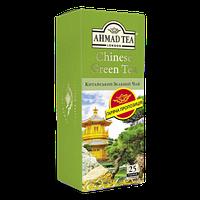 Чай зелёный пакетированный Ahmad Tea Китайский 25 x 1.8 г