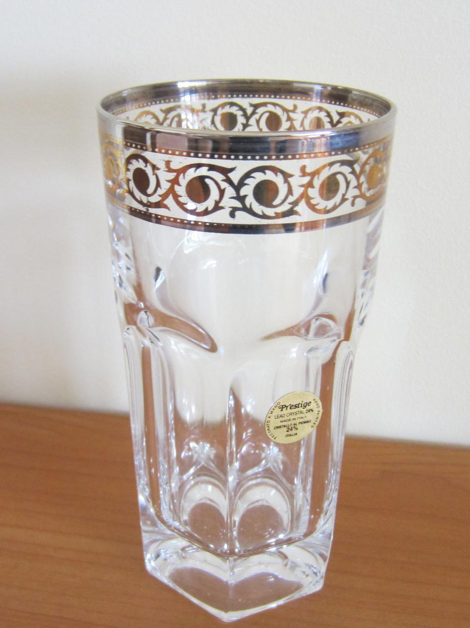 Набор стаканов Provenza c золотом и платиной