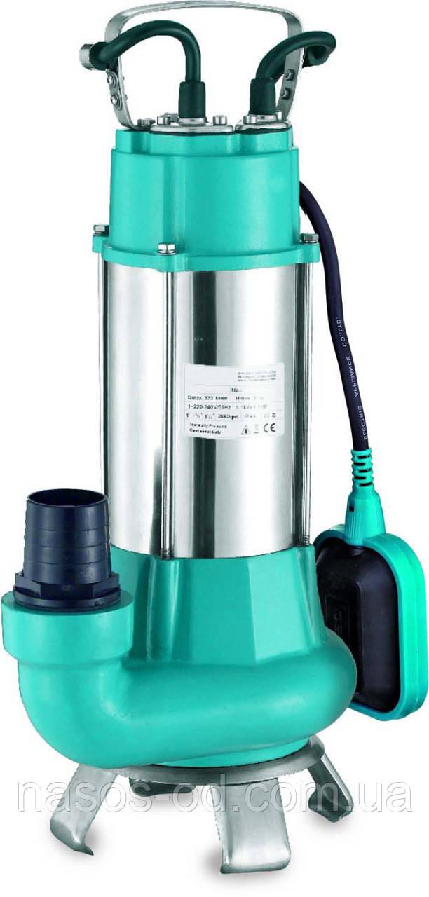 Дренажно-фекальный насос Aquatica для грязной воды 1.1кВт Hmax9м Qmax33л/мин