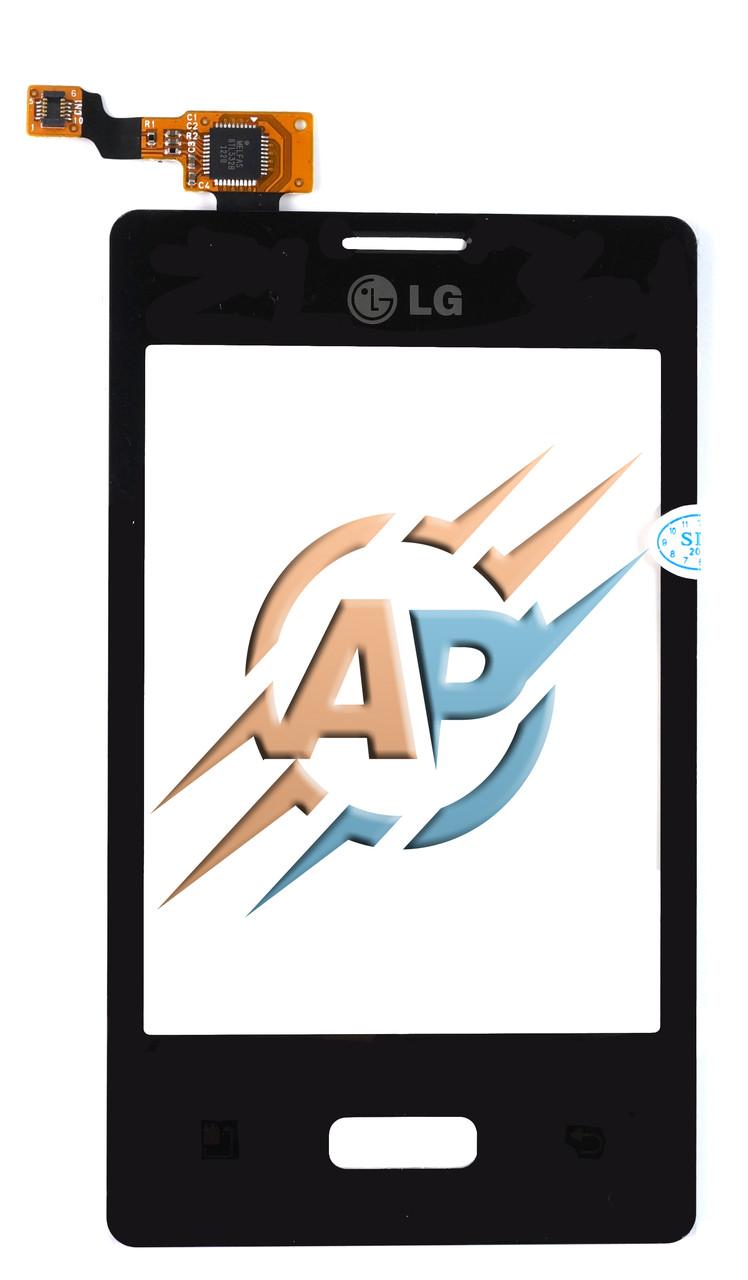 Тачскрин сенсор LG E400 оригинал + подарок