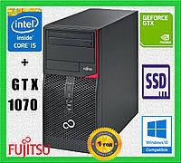 Core i5 4590 + GTX 1070 8GB 256Bit • 16GB DDR3 • 240GB SSD • 1TB • ИГРОВОЙ КОМПЬЮТЕР FUJITSU•ГАРАНТИЯ 1 ГОД • , фото 1