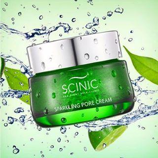 Крем для сужения пор Scinic Sparkling Pore Cream 50ml