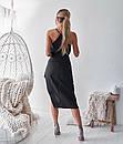Асимметричное летнее платье - майка из шифона 68plt2569, фото 3