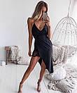 Асимметричное летнее платье - майка из шифона 68plt2569, фото 4