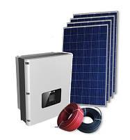 Солнечная электростанция мощностью 12 кВт