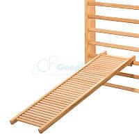 Массажная дорожка роликовая деревянная (125см)