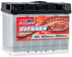 Акумулятор автомобільний Autopart Voyager 60AH R+