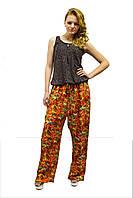 Летние женские  брюки стильного кроя
