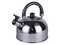 Чайник металлический со свистком А-Плюс WK 1321 2.5 л