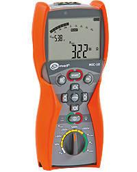 Мегаомметр MIC-10UA, вимірювач опору електроізоляції до 10 ГОм.