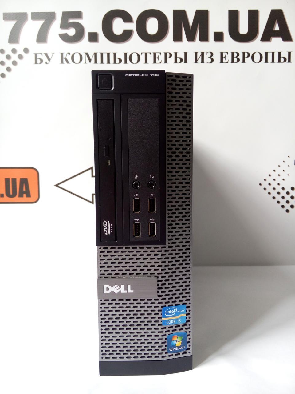 Компьютер SFF, Intel Pentium G870 3.1GHz, RAM 4ГБ, SSD 120ГБ, Супер цена!