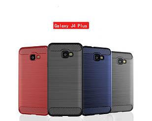 Чехол Carbon для Samsung J4 Plus 2018 /J415 (3 цвета)