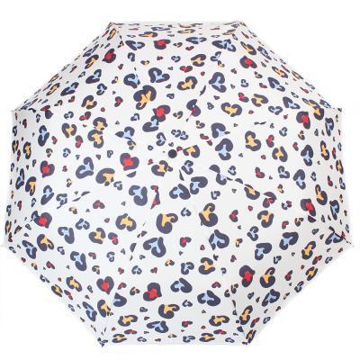 Женский зонт механический FULTON, FULL354-animal-heart, разноцветный