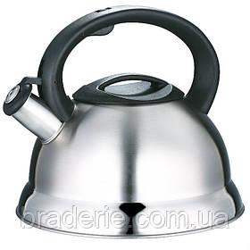 Чайник металлический со свистком FRICO FRU 754 3 л