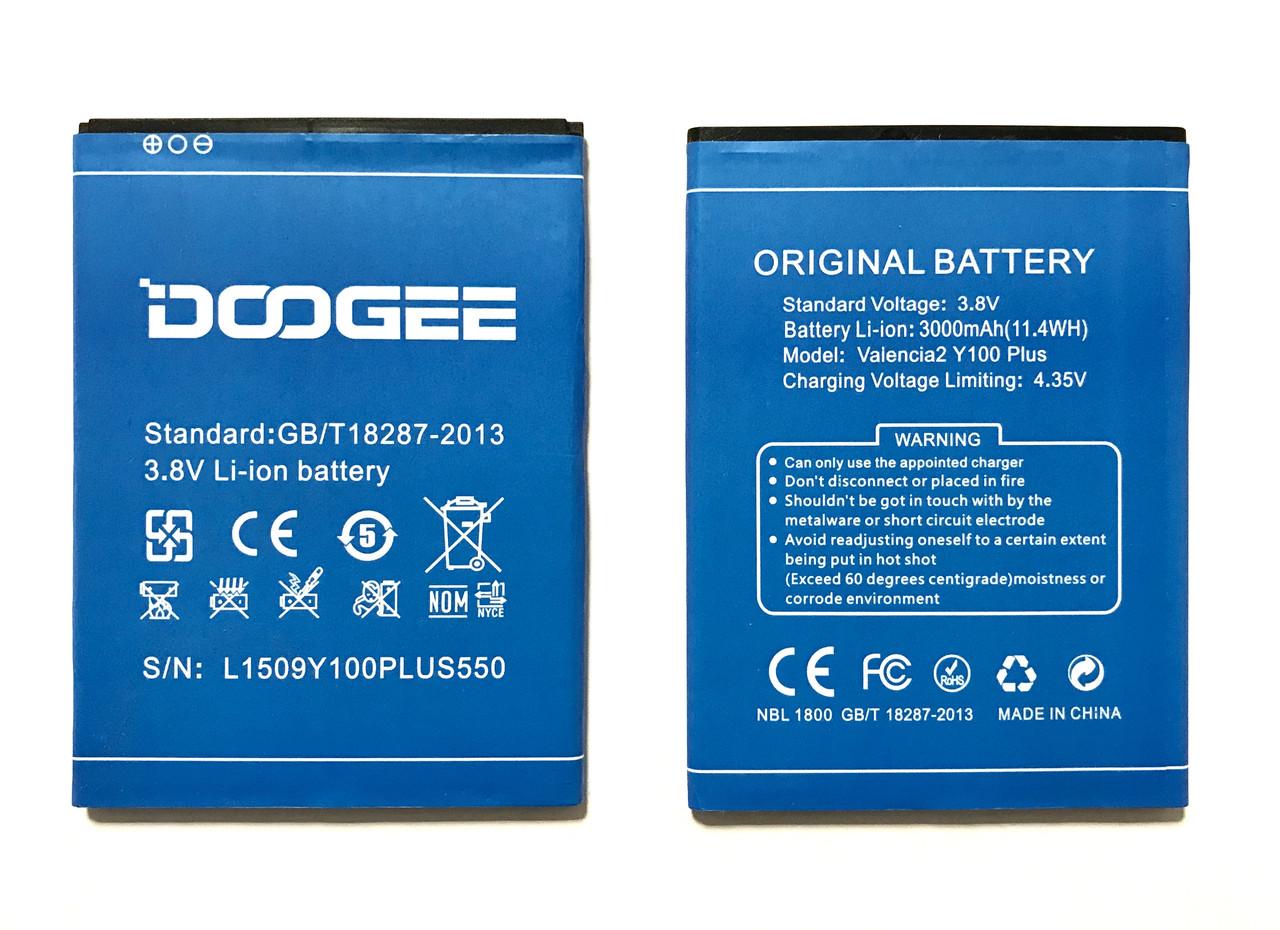 DOOGEE Y100 Plus Valencia2 Акумулятор Батарея