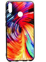 TPU + Glass Силикон Gradient Space Series for Huawei Honor 8X Unreal Mix