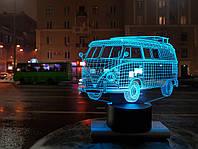 """3D Светильник """" Автомобиль 8"""""""