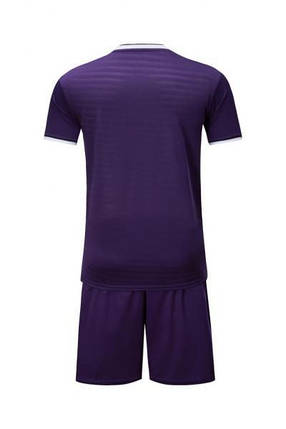 Детская Футбольная форма Europaw 015 фиолетовая, фото 2
