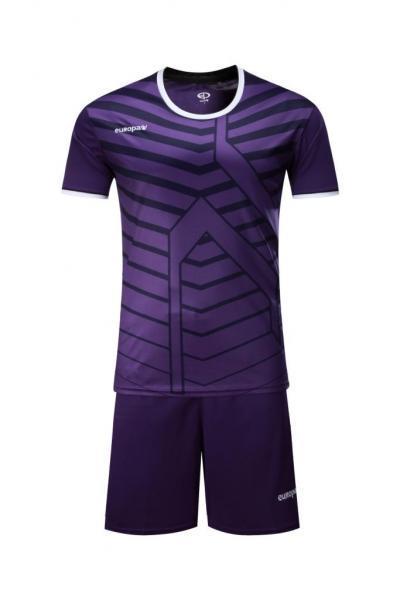 Детская Футбольная форма Europaw 015 фиолетовая