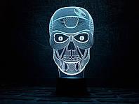 """3d светильник """"Череп"""" 3DTOYSLAMP"""