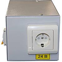 Понижающий трансформатор в корпусе 220/24 в IP30 IEK