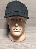 Бейсболка мужская рип-стоп чёрная, фото 1