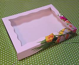 """Коробка для пряников """"Пасха"""" 15х20х3 см"""