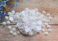 """Клеевой декор """"Ромашка"""", 16 мм, цвет белый, 10 шт."""