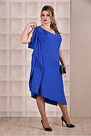 9ecee4e256e6285 Синие платье большого размера в Украине. Сравнить цены, купить ...