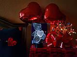 """Ночник — светильник детский """"Мишка с сердцем"""" 3DTOYSLAMP, фото 3"""