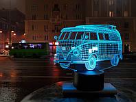 """Детский ночник - светильник """" Автомобиль 8"""""""