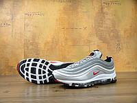 Мужские кроссовки серые Nike Air Max 97 (ТОП реплика) , фото 1