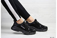 Кроссовки Balenciaga 7346 черные, фото 1