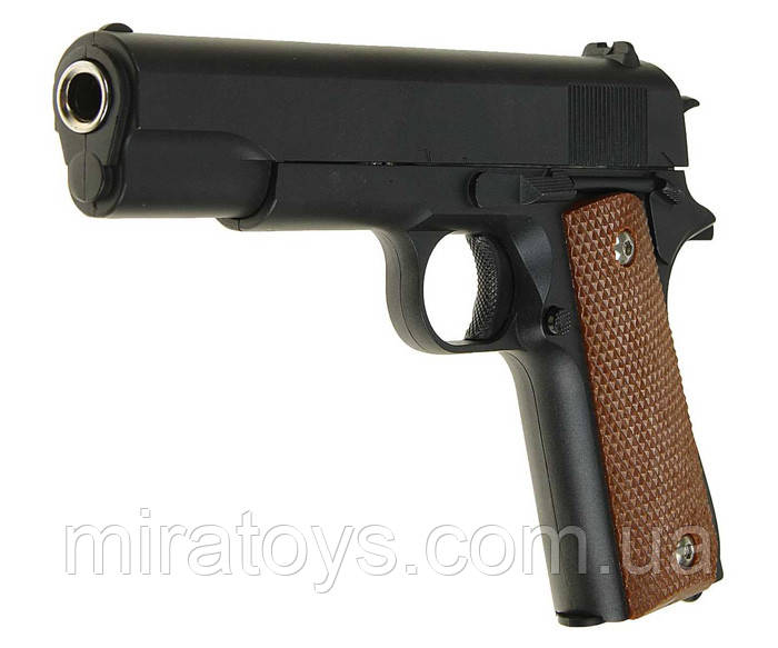 Пистолет пневматический страйкбольный Galaxy G13 (Colt M1911 Classic)
