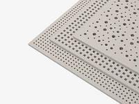 Плита перфорированная гипсовая звукопоглощающая Knauf Cleaneo 8/18 (круглая перфорация ) 2.374 кв.м/лист