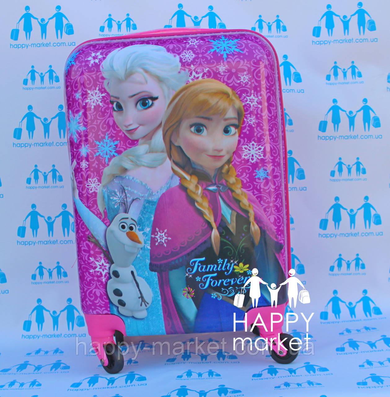Чемодан дорожный детский с кодовым замком 55 см ручная кладь Холодное Сердце Frozen 2561-67