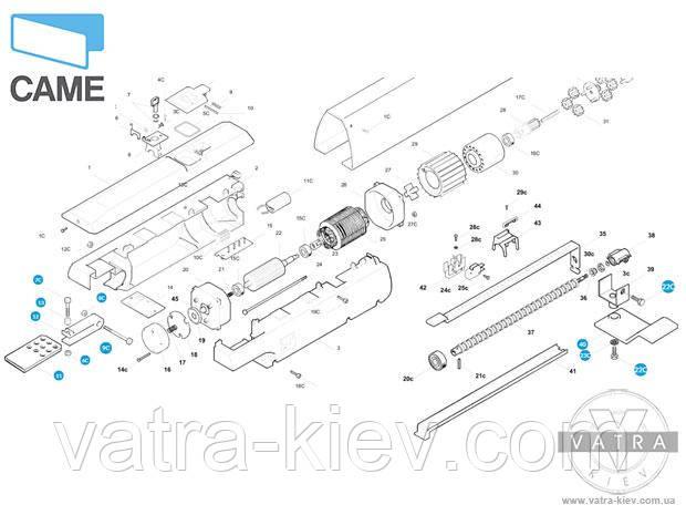 Монтажный комплект CAME ATI 119rid195