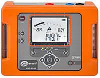 Мегаомметр MIC-2501, вимірювач опору електроізоляції до 1000 ГОм (1 ТОм)